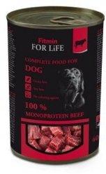 Fitmin Dog 400g for Life konserwa wołowina