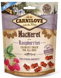 Carnilove Dog Snack 8875 Mackerel Raspberries 200g