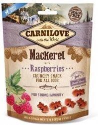 Carnilove Dog Snack 8875 Mackerel Raspberries 200g