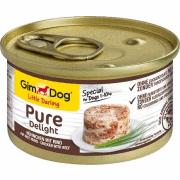 GimDog 513041 Pure Deli Kurczak & Jagniecina 85g