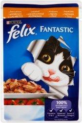 Felix Fantastic 100g Kurczak Pomidory sasz galaret