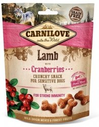 Carnilove Dog Snack 7250 Lamb & Cranberries 200g