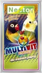 Nestor 0530 Odżywka papuga średnia Multivit