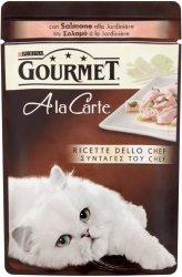 Gourmet A'la Carte 85g Łosoś/warzywa saszetka
