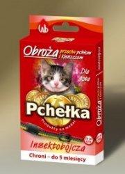 Pchełka 8031 Obroża p/ektopasożytom 30cm dla kota