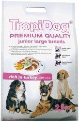 Tropidog 57235 Premium Junior L Turkey&Rice 2,5kg