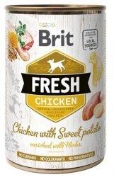 Brit Fresh 3893 Puszka 400g Chicken & Sweet Pota