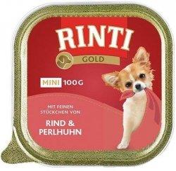 Rinti 92021 Mini Gold 100g Wołowina/ Perliczka
