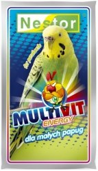 Nestor 0523 Odżywka papuga mała Multivit