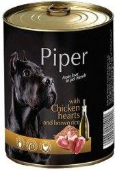 Piper 0373 puszka 800g serca kurczaka i ryż