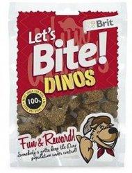 Brit Let's Bite N Dog Dinos 150g