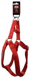Pet Nova 1710 Szelki nylon 2,5cm 47-68cm red XL