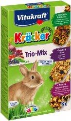 Vitakraft 25227 Kracker 3szt dla królika mix warz