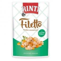 Rinti 95404 Filetto Kurczak warzywa 100g galaretka