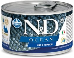 ND Dog 2208 Adult Mini 140g Ocean Cod Pumpkin