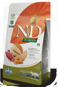 ND Cat NG 5400 Pumpkin Adult 1,5kg Duck&Cantakoupe