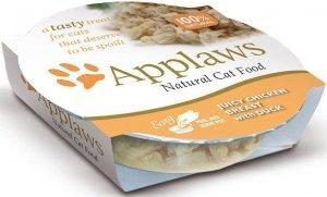 Applaws 7001 Cat Pierś Kurczak Kaczka 60g miseczka