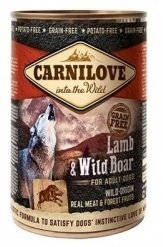 Carnilove Dog 1631 Wild Meat Lamb& Wild Boar 400g