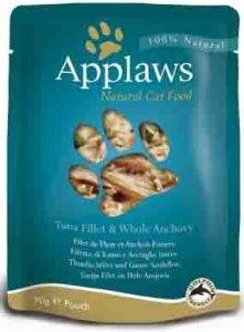 Applaws 8006 Cat Tuńczyk & Anchois wodors 70g sasz