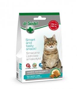 Dr Seidel 1629 Smakołyki d/kotów seniorów 50g