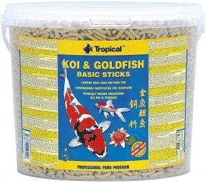 Trop. Pond 40877 Koi&Goldfish Basic stick 5l wiadr