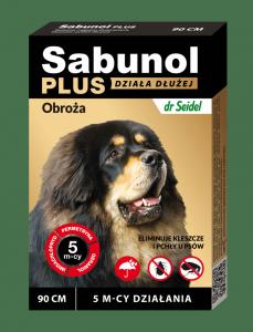 Sabunol 1544 Obroża Plus dla psa 90cm