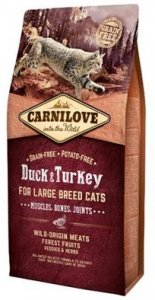 Carnilove Cat 2768 Large Breed Duck&Turkey 2kg