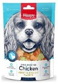 Wanpy 0889 Ciasteczka zawijane kurczakiem 100g psa