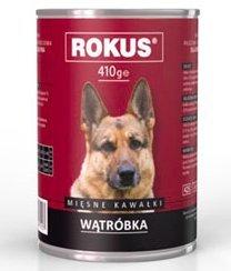 Rokus Dog 410g Wątróbka