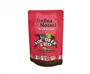 Dolina Noteci 4722 SuperFood Sarna Wołowina 85g
