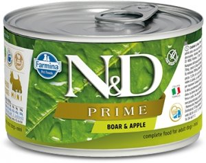 ND Dog 2253 Adult Mini 140g Prime Boar Apple