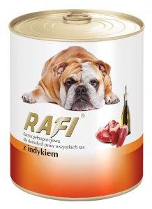 Rafi 1134 puszka 800g z indykiem dla psa