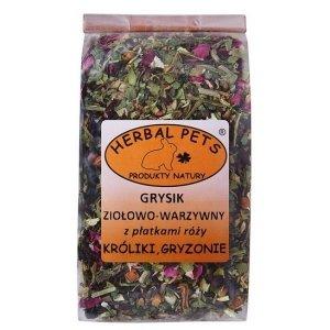 Herbal Pets 4838 Grysik ziołowo-warzyw z rózą 100g
