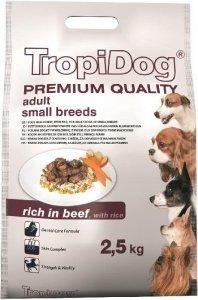 Tropidog 57085 Premium Adult S Beef&Rice 2,5kg