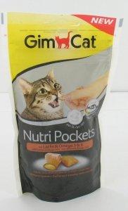 GimCat 400730 Nutri Pock 60g Omega 3,6 łosoś