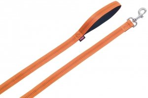 Nobby 78508-04 Smycz Soft Grip 120cm 10mm pomarańc