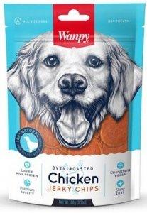 Wanpy 0650 Jerki Chipsy z Kurczaka 100g dla psa