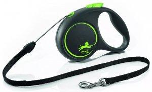 Flexi 3332 Black Design S Cord 5m zielona