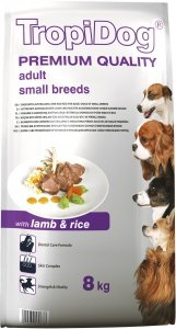 Tropidog 57067 Premium Adult S Lamb&Rice 8kg