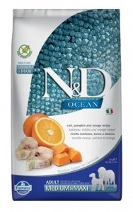ND Dog Ocean 6551 Ad M&M 2,5kg Pumpkin Codfish Ora