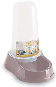Zolux 04094 Dystryb pokarm/woda BREAK 0,65L róż