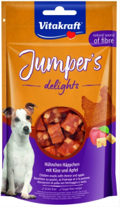 Vitakraft 6086 Jumpers Delights kurczak/jabłko 80g