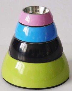 Miska z melaminy DB-01-XL roz. XL okragła żółta