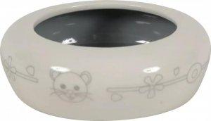 Zolux 206102 Miska ceramiczna gryzon 250 ml beż