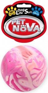 Pet Nova 0690 Piłka multikolor pełna 6cm vanilia