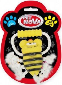 Pet Nova 1656 Pszczoła na sznurku z uchwytem 26cm
