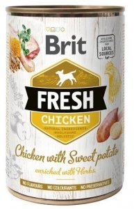 Brit Fresh 3893 Puszka 400g Chicken & Sweet Pota