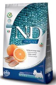 ND Dog Ocean 6445 Adult Mini 800g Herring Orange