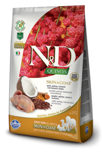 ND Dog NG 5622 Adult Quinoa 2,5kg Skin&Coat Quail