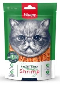 Wanpy 1473 Przysmak Suszone krewetki 20g dla kota